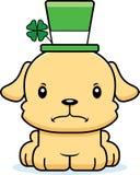 Cartoon Angry Irish Puppy Stock Photography