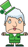 Cartoon Angry Irish Woman Royalty Free Stock Photography