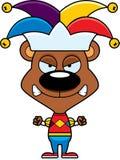 Cartoon Angry Jester Bear Royalty Free Stock Photo