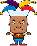 Cartoon Angry Jester Man Royalty Free Stock Images