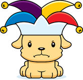 Cartoon Angry Jester Puppy Royalty Free Stock Image