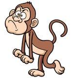 Cartoon Angry monkey Royalty Free Stock Photos