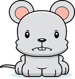 Cartoon Angry Mouse Royalty Free Stock Photos