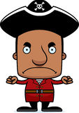 Cartoon Angry Pirate Man Royalty Free Stock Photo
