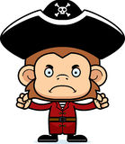Cartoon Angry Pirate Monkey Stock Photos