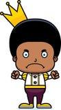Cartoon Angry Prince Boy Royalty Free Stock Photo