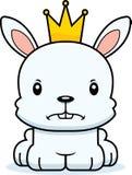 Cartoon Angry Prince Bunny Stock Photos