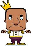 Cartoon Angry Prince Man Stock Photo