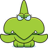 Cartoon Angry Pterodactyl Royalty Free Stock Image