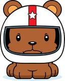 Cartoon Angry Race Car Driver Bear Stock Photos