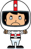 Cartoon Angry Race Car Driver Boy Stock Photos