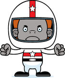 Cartoon Angry Race Car Driver Orangutan Stock Photo