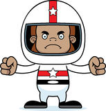 Cartoon Angry Race Car Driver Sasquatch Royalty Free Stock Photos