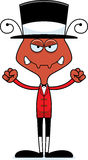 Cartoon Angry Ringmaster Ant Royalty Free Stock Images