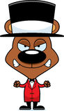 Cartoon Angry Ringmaster Bear Stock Photo