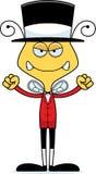 Cartoon Angry Ringmaster Bee Stock Photos