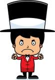 Cartoon Angry Ringmaster Boy Royalty Free Stock Photos
