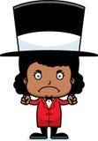 Cartoon Angry Ringmaster Girl Stock Photos