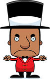 Cartoon Angry Ringmaster Man Stock Image