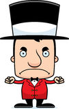 Cartoon Angry Ringmaster Man Royalty Free Stock Image