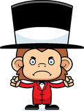 Cartoon Angry Ringmaster Monkey Stock Photos