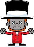 Cartoon Angry Ringmaster Orangutan Royalty Free Stock Photos