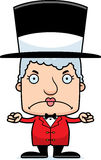 Cartoon Angry Ringmaster Woman Stock Photos