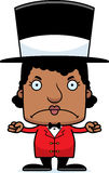 Cartoon Angry Ringmaster Woman Royalty Free Stock Photo