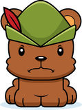 Cartoon Angry Robin Hood Bear Royalty Free Stock Photo