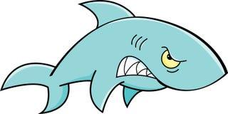 Cartoon Angry Shark Royalty Free Stock Photo