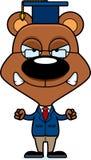 Cartoon Angry Teacher Bear Stock Photo