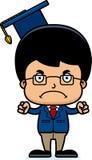 Cartoon Angry Teacher Boy Stock Images