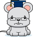 Cartoon Angry Teacher Mouse Stock Photo