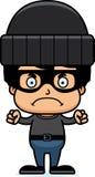 Cartoon Angry Thief Boy Stock Photo