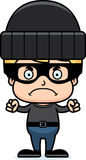 Cartoon Angry Thief Boy Stock Photos