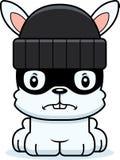 Cartoon Angry Thief Bunny Stock Photography