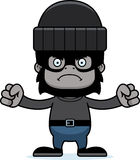 Cartoon Angry Thief Gorilla Stock Photography