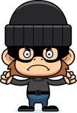 Cartoon Angry Thief Monkey Royalty Free Stock Photography