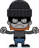 Cartoon Angry Thief Orangutan Royalty Free Stock Images