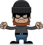 Cartoon Angry Thief Sasquatch Stock Photo