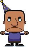 Cartoon Angry Wizard Man Royalty Free Stock Photos