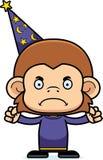 Cartoon Angry Wizard Monkey Stock Photo