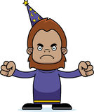 Cartoon Angry Wizard Sasquatch Stock Photo
