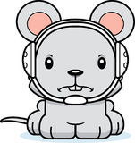 Cartoon Angry Wrestler Mouse Stock Images