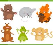 Cartoon animal characters set Royalty Free Stock Photos