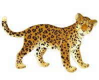 Cartoon animal - illustration for the children Stock Photo