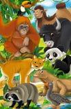 Cartoon animal - illustration for the children vector illustration