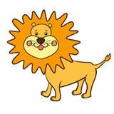 Cartoon animal lion1-01 Royalty Free Stock Image