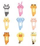 Cartoon animal set Stock Photo
