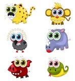 Cartoon animals Royalty Free Stock Photos